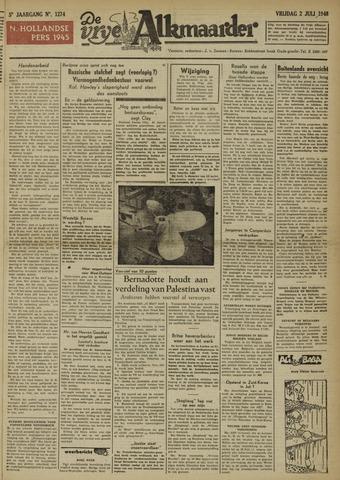 De Vrije Alkmaarder 1948-07-02