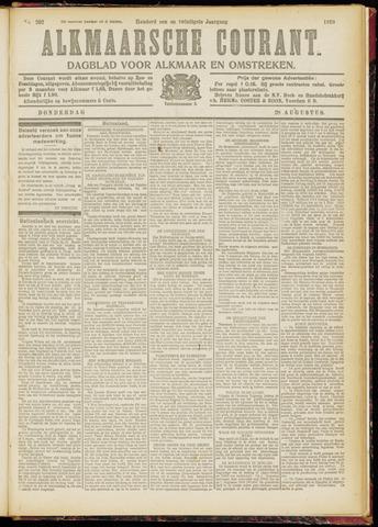 Alkmaarsche Courant 1919-08-28