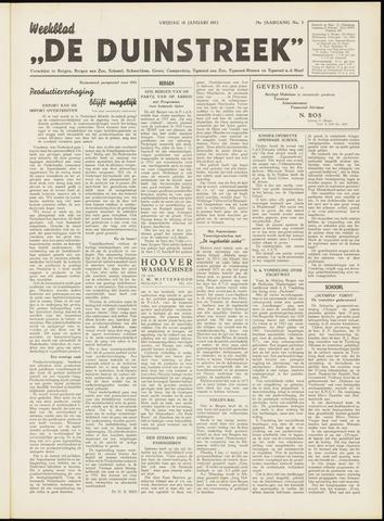 De Duinstreek 1952-01-18