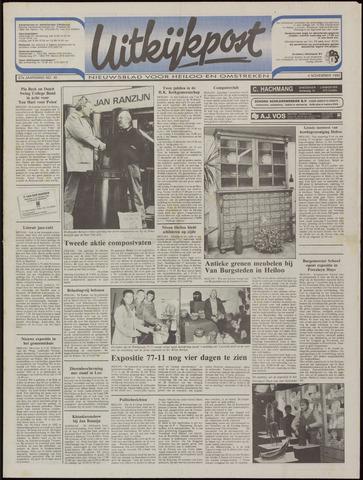 Uitkijkpost : nieuwsblad voor Heiloo e.o. 1992-11-04