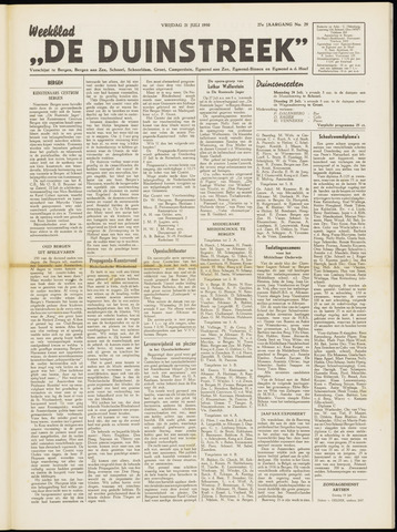 De Duinstreek 1950-07-21