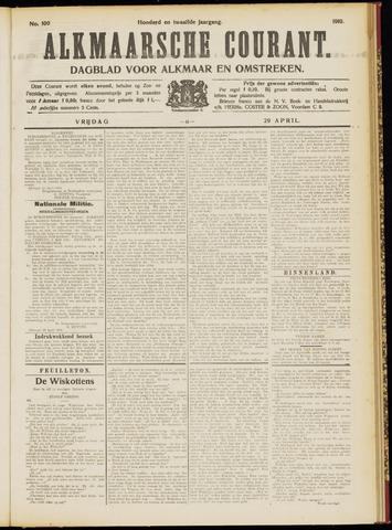 Alkmaarsche Courant 1910-04-29
