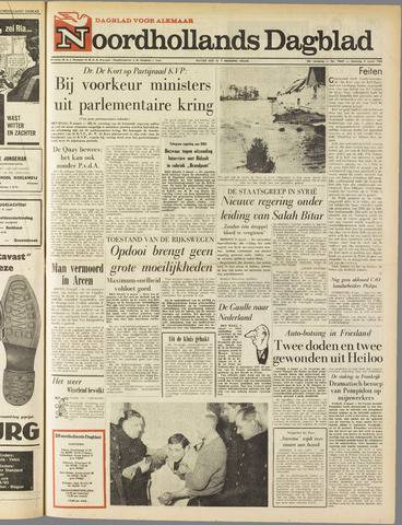 Noordhollands Dagblad : dagblad voor Alkmaar en omgeving 1963-03-09