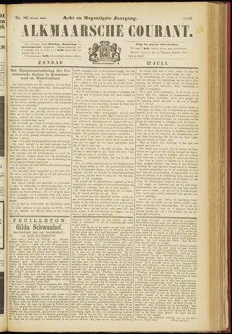 Alkmaarsche Courant 1896-07-12