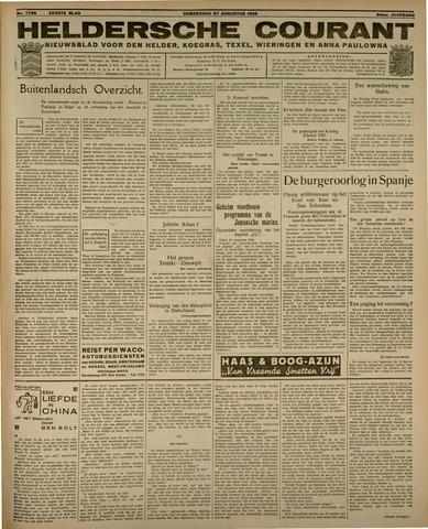 Heldersche Courant 1936-08-27
