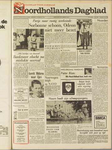 Noordhollands Dagblad : dagblad voor Alkmaar en omgeving 1968-06-15