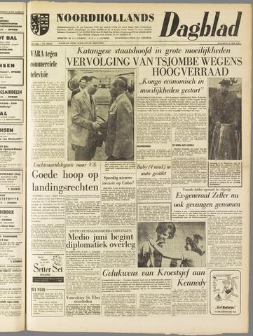 Noordhollands Dagblad : dagblad voor Alkmaar en omgeving 1961-05-08
