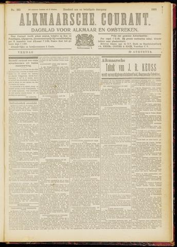 Alkmaarsche Courant 1919-08-29