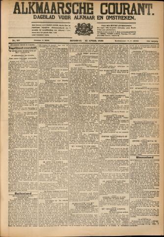Alkmaarsche Courant 1930-04-15