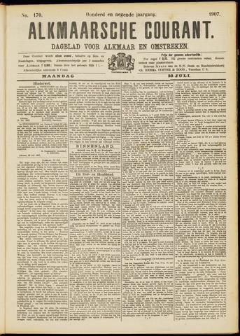 Alkmaarsche Courant 1907-07-22