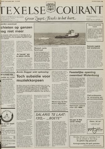 Texelsche Courant 1986-04-25