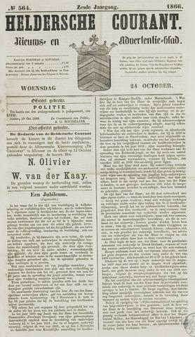 Heldersche Courant 1866-10-24
