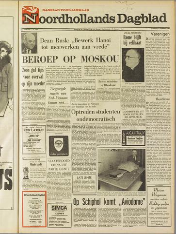 Noordhollands Dagblad : dagblad voor Alkmaar en omgeving 1968-11-02
