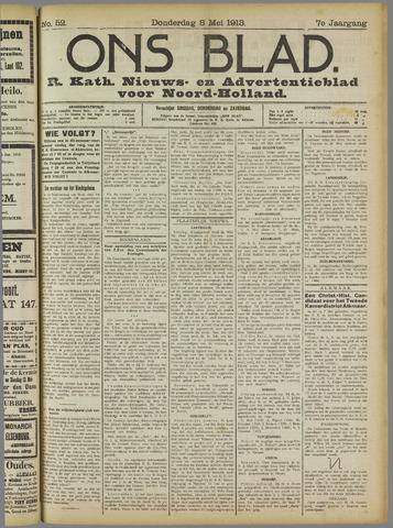 Ons Blad : katholiek nieuwsblad voor N-H 1913-05-08