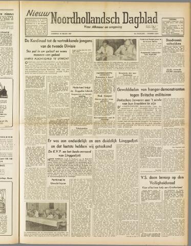 Nieuw Noordhollandsch Dagblad : voor Alkmaar en omgeving 1947-03-29