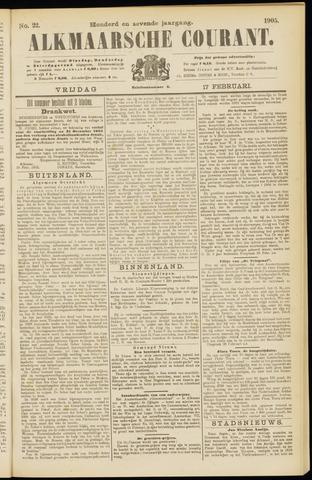 Alkmaarsche Courant 1905-02-17