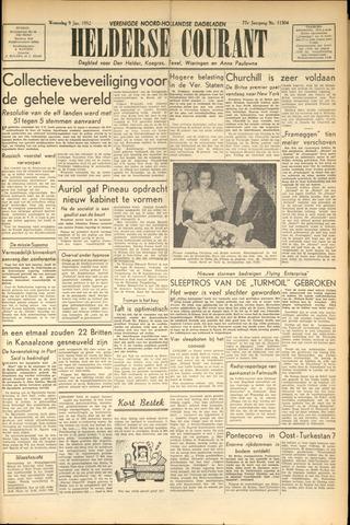 Heldersche Courant 1952-01-09