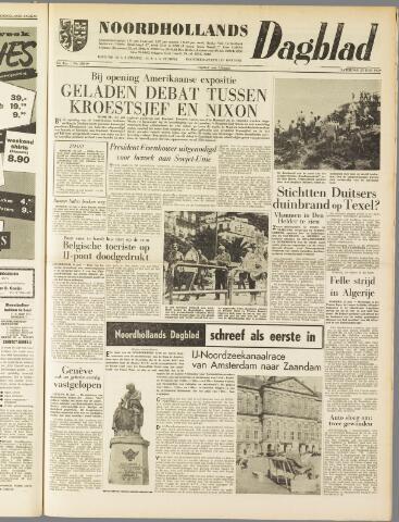 Noordhollands Dagblad : dagblad voor Alkmaar en omgeving 1959-07-25