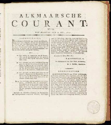 Alkmaarsche Courant 1817-05-12