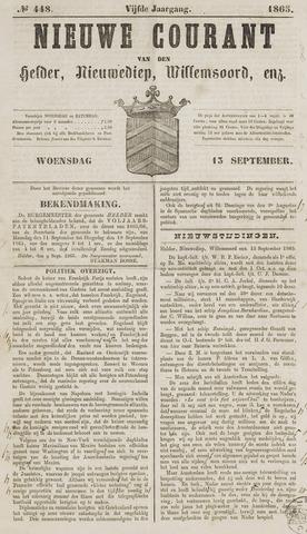 Nieuwe Courant van Den Helder 1865-09-13