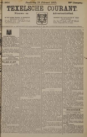 Texelsche Courant 1915-02-18