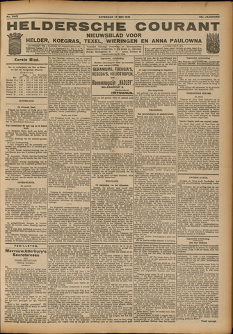 Heldersche Courant 1921-05-14