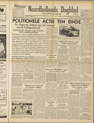 Nieuw Noordhollandsch Dagblad : voor Alkmaar en omgeving 1947-08-04