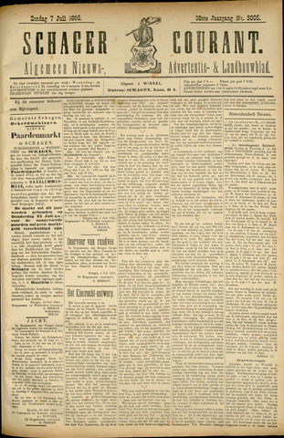 Schager Courant 1895-07-07