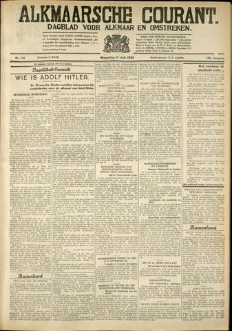 Alkmaarsche Courant 1933-07-17