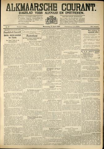 Alkmaarsche Courant 1933-04-12