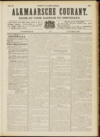 Alkmaarsche Courant 1910-02-16