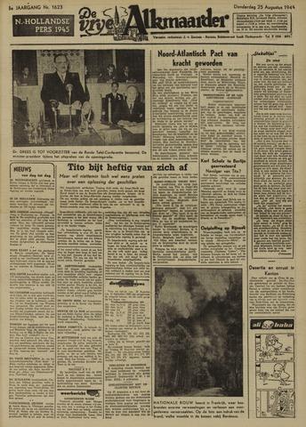 De Vrije Alkmaarder 1949-08-25