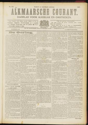 Alkmaarsche Courant 1917-09-11