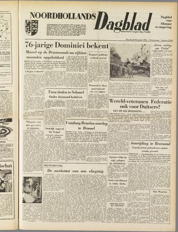 Noordhollands Dagblad : dagblad voor Alkmaar en omgeving 1953-11-16