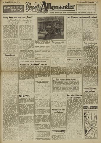 De Vrije Alkmaarder 1949-12-15