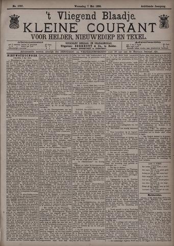 Vliegend blaadje : nieuws- en advertentiebode voor Den Helder 1890-05-07