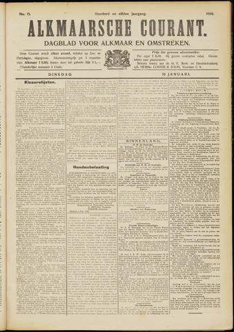 Alkmaarsche Courant 1909-01-19