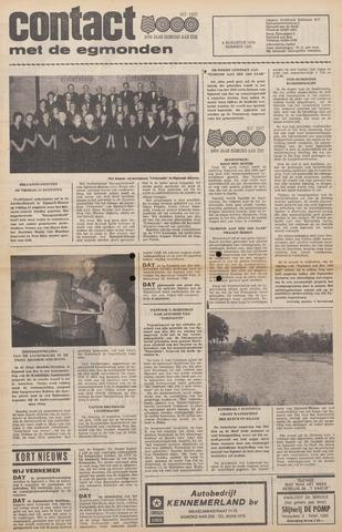 Contact met de Egmonden 1976-08-04