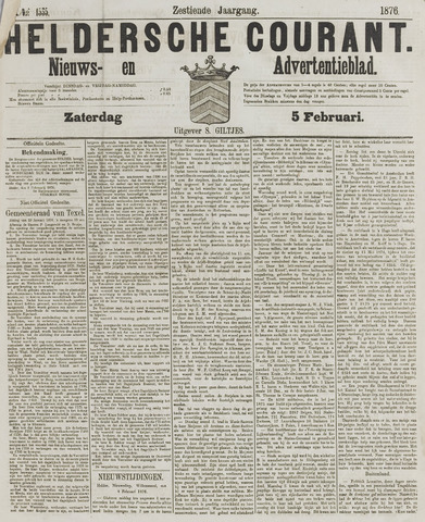 Heldersche Courant 1876-02-05