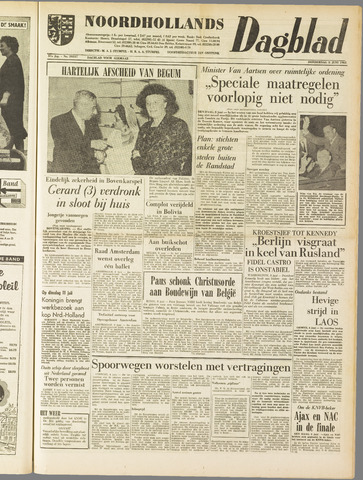 Noordhollands Dagblad : dagblad voor Alkmaar en omgeving 1961-06-08