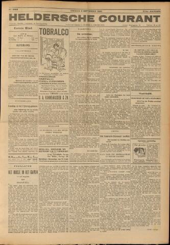 Heldersche Courant 1929-09-03