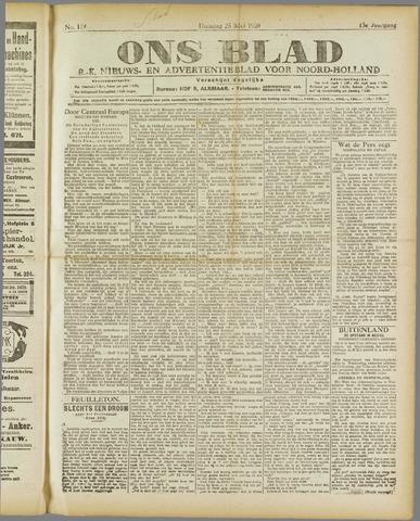 Ons Blad : katholiek nieuwsblad voor N-H 1920-05-25