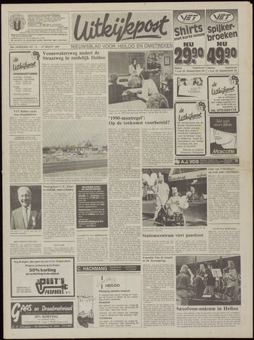 Uitkijkpost : nieuwsblad voor Heiloo e.o. 1991-03-27