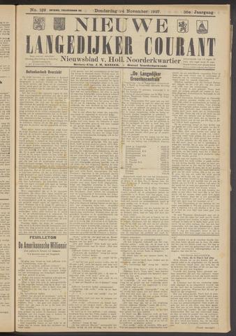 Nieuwe Langedijker Courant 1927-11-24