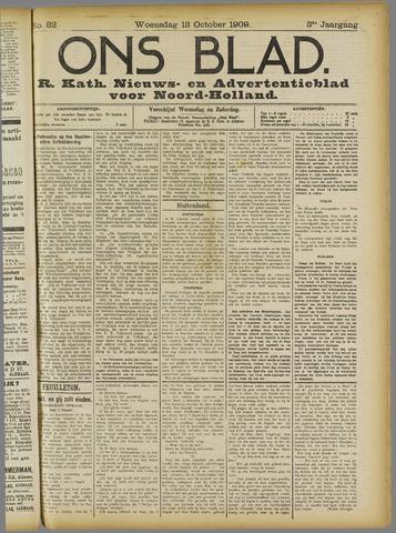 Ons Blad : katholiek nieuwsblad voor N-H 1909-10-13