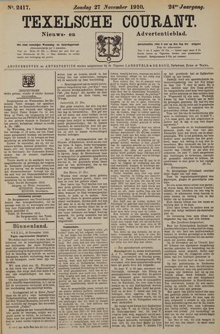Texelsche Courant 1910-11-27