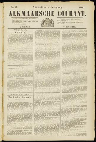 Alkmaarsche Courant 1888-08-10