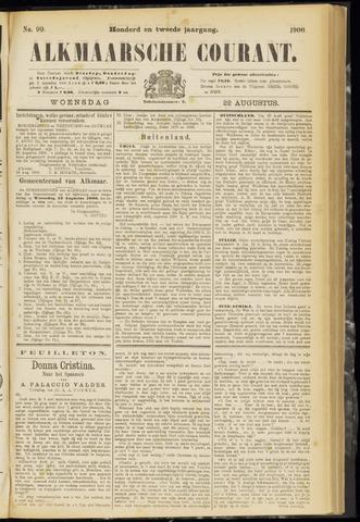 Alkmaarsche Courant 1900-08-22