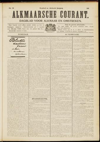 Alkmaarsche Courant 1911-02-14