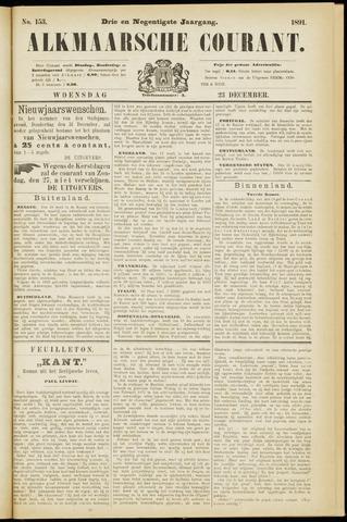 Alkmaarsche Courant 1891-12-23
